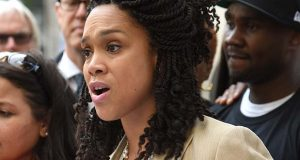 Baltimore City State's Attorney Marilyn J. Mosby: '