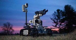 Roboteam's Transportable Interoperable Ground Robot (TIGR). (Business Wire photo)