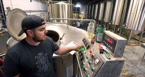 5.23.17 BALTIMORE, MD- Tim Scouten, Brewer at Peabody Heights Brewery.  (Maximilian Franz/The Daily Record)