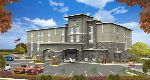 Rendering of the planned Homewood Suites for Largo, set to open in 2018. (Submitted rendering)