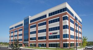 Keller Williams Realty, Flagship of Maryland is leasing 24,000 square feet of office space at the five-story, 126,500-square-foot Class A building at 231 Najoles Road. (Photo courtesy of St. John Properties)