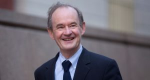 David Boies, chairman of Boies Schiller & Flexner, is shown Oct. 7, 2014, to the U.S. Court of Federal Claims in Washington, D.C. (Andrew Harrer/Bloomberg)