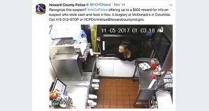 (Screenshot of Howard County Police Twitter page)