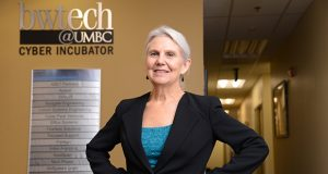 Ellen Hemmerly, MBA, Executive Director of bwtech@UMBC Research and Technology Park.  (The Daily Record/Maximilian Franz)