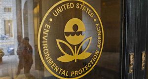 FILE - This Sept. 21, 2017 file photo shows The Environmental Protection Agency (EPA) Building in Washington. The EPA says an internal task force appointed to revamp how the nation's most polluted sites are cleaned up generated no record of its deliberations. (AP Photo/Pablo Martinez Monsivais, File)