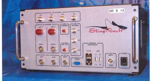 This undated handout photo provided by the U.S. Patent and Trademark Office shows the StingRay II, manufactured by Harris Corporation, of Melbourne, Fla., a cellular site simulator used for surveillance purposes. A police officer testified Wednesday, April 8, 2015, that the Baltimore Police Department has used Hailstorm, a upgraded version of the StringRay surveillance device, 4,300 times and believes it is under orders by the U.S. government to withhold evidence from criminal trials and ignore subpoenas in cases where the device is used. (AP Photo/U.S. Patent and Trademark Office)