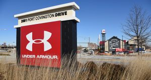 Under Armour's facilities at Port Covington in Baltimore (File Photo)