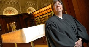 Pamela J. White, Judge with the Circuit Court For Baltimore City. Poritrats in law Libraury. MF-D 6/20/07.