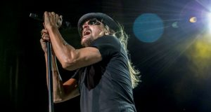 A political organization's use of this photo of Kid Rock, taken by a photographer Larry Philpot and posted on the Wikimedia Commons website, is fair use, a federal judge has ruled in denying Philpot's bid to receive damages for copyright infringement. (Larry Philpot of www.soundstagephotography.com)