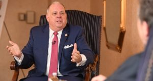 Gov. Larry Hogan: 'The last thing anybody wants to see is Annapolis become Washington.' (Maximilian Franz/The Daily Record)
