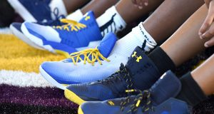 Shoe sales were a big driver of Under Armour's strong performance in the third quarter of 2020. (The Daily Record/File Photo)