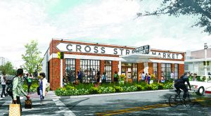 A rendering of Cross Street Market currently undergoing renovations. (Submitted)
