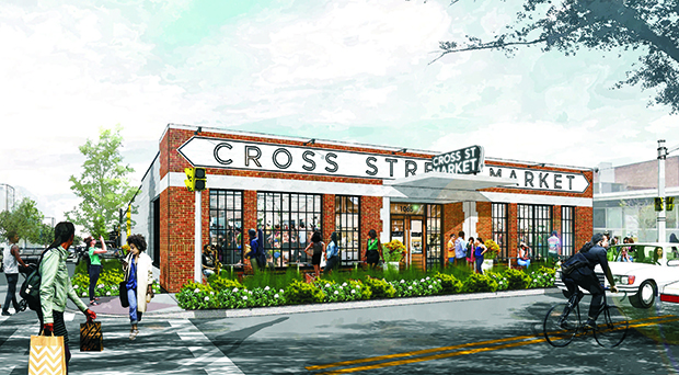 A rendering of Cross Street Market. (Submitted)