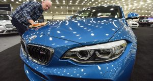 The Motor Trend International Auto Show 2018 runs Feb. 8 to 11 at the Baltimore Convention Center. (The Daily Record / Maximilian Franz)