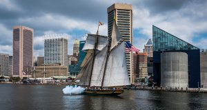 The Pride of Baltimore II is undergoing maintenance as part of a 30-year refit of the vessel. The ship will then remain docked at its maintenance berth indefinitely unless sufficient funding is secured for a sailing season. (Submitted photo)