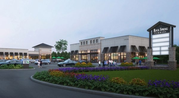MacKenzie Commercial Real Estate announced the opening of two new tenants at the Rock Spring Commons shopping center in Harford County. (Rendering courtesy of MacKenzie Commercial Real Estate).