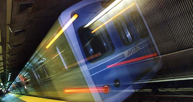 Baltimore's Metro Subway in 2000. (The Daily Record file)