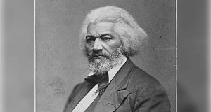 Frederick Douglass, circa 1879. (National Archives photo)