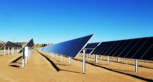 Rockville-based Standard Solar Inc. owns and operates this 9.8 megawatt solar project in the city of Gallup, New Mexico. (Standard Solar photo)