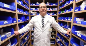 BALTIMORE, MD 3-1-18- Joseph DiCubellis, PHh., MPH, Senior Director of Pharmacy Services at Univeristy of Maryland Medical Center.  Photo by Maximilian Franz
