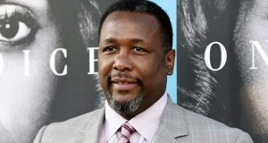 "FILE - In this March 31, 2016 file photo, Wendell Pierce, a cast member in ""Confirmation,"" poses at the premiere of the HBO film in Los Angeles. Pierce has announced that the grand opening of an apartment complex will be next month. The Baltimore Sun reports Pierce said in a tweet, ""Grand Opening of The Nelson Kohl Apartments 20 E. Lanvale. April 6th 11:30am. Come and join me as we cut the ribbon!!!"" (Photo by Chris Pizzello/Invision/AP, File)"