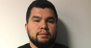 Jose A. Barahona was hired as a Montgomery County Police Officer in October of 2014. (Montgomery County Police photo)