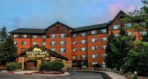 Rocky Gap Casino Resort has three award-winning restaurants, 198 hotel rooms and suites and the property includes the championship caliber Rocky Gap Golf Course, the only Jack Nicklaus Signature Golf Course in Maryland, and the Spa at Rocky Gap.(File photo)
