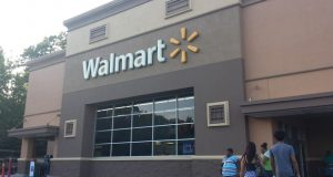The Walmart location at 7081 Arundel Mills Blvd. is one of eight retail locations the company is expected to renovate as part of a $28 million improvement plan. (File photo)