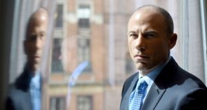 Michael Avenatti, a lawyer for Stormy Daniels, 'is doing a magnificent job getting the court of public opinion on Stormy's side,' a lawyer says. Daniels is receiving about $75,000 a week in small donations for her legal fees for her litigation with President Donald Trump. (Jennifer S. Altman/The Washington Post)