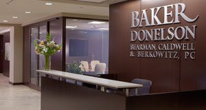 Baker Donelson is among the 60 largest law firms in the country, with more than 750 attorneys and public policy advisers representing more than 30 practice areas to serve a wide range of legal needs. Clients receive knowledgeable guidance from experienced, multi-disciplined industry and client service teams, all connected across 22 offices in Maryland, the District of Columbia and nine other states. (File photo)