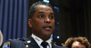 Former Baltimore Police Commissioner Darryl De Sousa. (File photo)