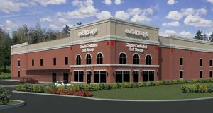 Columbia-based ezStorage Corp. opened a new facility in Arnold at 1434 Ritchie Highway. (ezStorage rendering)