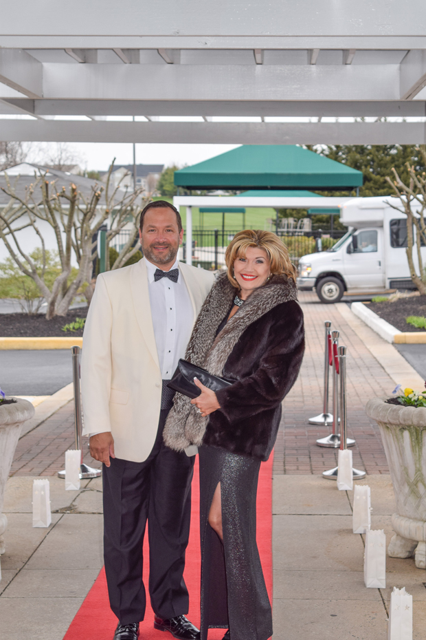 Steve Linkous, left, president and CEO of Harford Mutual Insurance Company, and Sandi Linkous, owner of Merle Norman/NVS Salon in Bel Air, enjoyed their evening out at The Arc Northern Chesapeake Region's 14th annual After d'Arc Gala. (Photo courtesy of The Arc Northern Chesapeake Region)