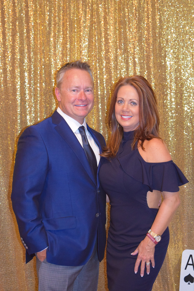 Paul Muddiman, a vice president with Morris & Ritchie Associates Inc., and Chrissy Muddiman are all smiles at The Arc Northern Chesapeake Region's 14th annual After d'Arc Gala. (Photo courtesy of The Arc Northern Chesapeake Region)