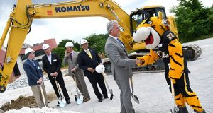 6-7-18 TOWSON, MD- Photo taken at the groundbreaking ceremony for the Towson Row project.  Photo by Maximilian Franz