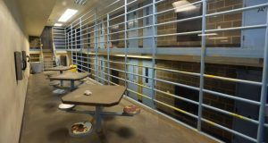 A maximum security cell block at the Whatcom County Jail in Bellingham, Wash. in 2015. In a novel case with national implications, the Washington state chapter of the American Civil Liberties Union is suing the jail to force it to provide opiate-withdrawal medication to prisoners, claiming the refusal to provide the medicine violates the Americans with Disability Act because opioid addiction qualifies as a disability under the law. (Philip A. Dwyer/The Bellingham Herald via AP)