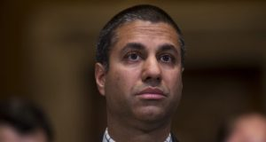 Federal Communications Chairman Ajit Pai. (Zach Gibson/Bloomberg)