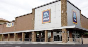 Aldi is opening a new store in Timonium Thursday July 26, 2018. The store is located in the space vacated when Mars closed at the location on York Road near Ridgely Road. (Maximilliam Franz)