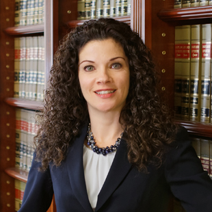 Rebecca A. Fleming, ., a partner at Turnbull, Nicholson & Sanders, P.A., is the 100th president of the Baltimore County Bar Association.