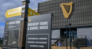 Guinness Open Gate Brewery & Barrel House, the first Guinness brewery in the U.S. in more than 60 years, held a ribbon cutting on August 2, 2018 in Halethorpe, Maryland.  Opening to the public August 3, 2018 at 3pm EST. (PRNewsfoto/Diageo Beer Company USA)
