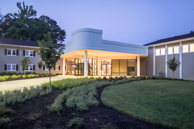 The new $30 million Maryland Center for Addiction Treatment in Waldorf has a campus of 72,000 square feet and works with patients and families seeking care for substance use disorders and drug or alcohol addiction. (Photo by Bill Cassidy, Recovery Centers of America)