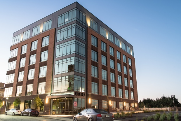 Employee One Benefits Solutions signed a 9,000-square-foot lease at 145 W. Ostend St. The building is part of Caves Valley Partners' Stadium Square project in South Baltimore. (Courtesy Caves Valley Partners)