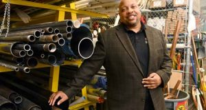 Barnett Carroll started Baltimore-based Aegis Mechanical Corp. in 2007.