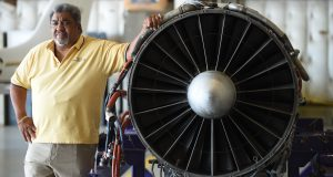 Jerome Hodge started AvDyne Aero Service about two decades ago.