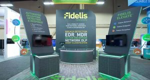 Fidelis Cybersecurity Inc. had a booth at Black Hat USA 2018 in August in Las Vegas. (Submitted photo)