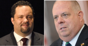Ben Jealous and Larry Hogan,