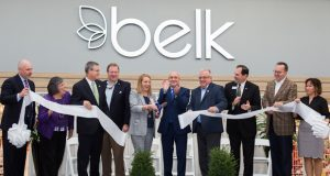 Belk opens newest store in Hagerstown, Maryland, bringing 110 jobs to the area. Pictured: Belk Store Manager, Maryland officials and Belk executives.