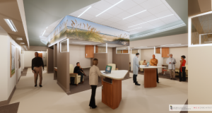 A rendering of what the new Harford Crisis Center will look like when it opens next spring. (Submitted)