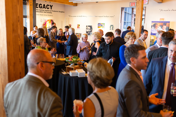 Guests attending the awards celebration at the Frederick Douglass-Isaac Myers Maritime Park Museum in Baltimore helped raise $70,000 for children and families served by PACT: Helping Children with Special Needs. (Photo courtesy of PACT)