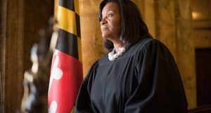 Wanda Keyes Heard, chief judge for the Eighth Judicial Circuit Court of Maryland. (File Photo/Maximilian Franz)